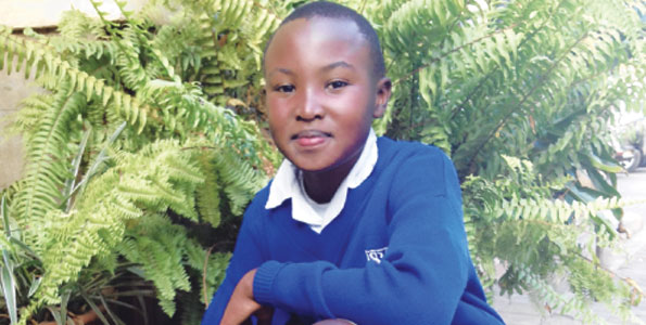 Stephen Njoroge has been lauded Mattai's successor at the age of 12 for planting 10,000 trees through his We Care Club at his school. He was recognized last year at the UN International Day of Peace.