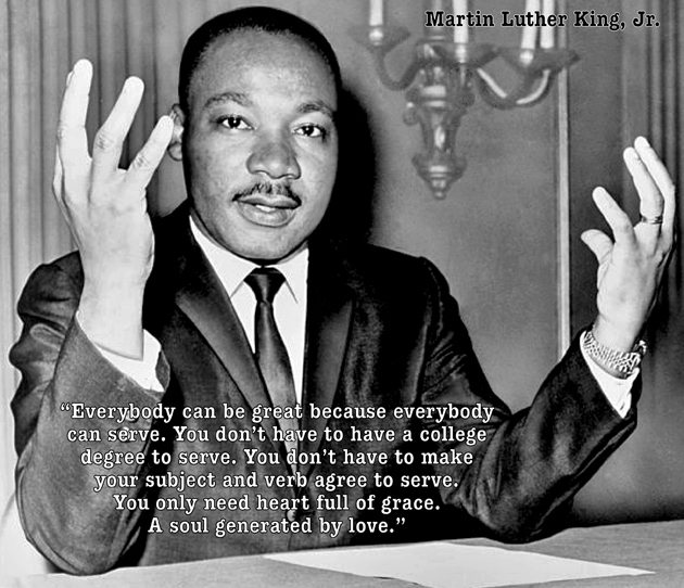 martin luther king jr an innovator 2018-6-15  how was dr martin luther king's education he was indeed a college graduate from morehouse college in 1948 with a bachelor of arts degree in sociology read more about his education now.