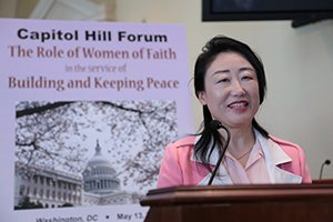 Forum Highlights Women's Critical Role in Peacebuilding
