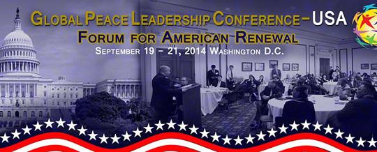 Global Peace Leadership Conference -USA 2014