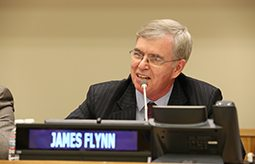 Moral and Innovative Leadership: GPF International President Jim Flynn Addresses Young Leaders at UN