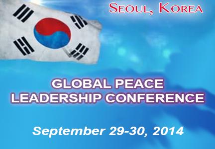Global Peace Leadership Conference - Seoul, Korea
