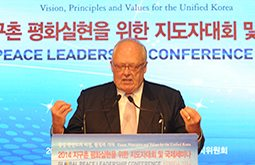 Korean Unification 'Sea-Change' Cited At 2014 Global Peace Leadership Conference