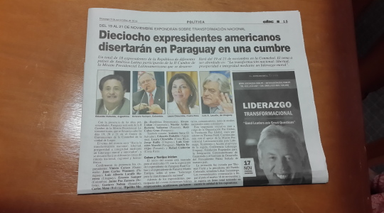 Coverage of Global Peace Convention 2014