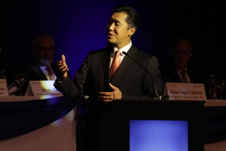 VIDEO: Dr. Hyun Jin Moon Opens the Global Peace Convention 2014